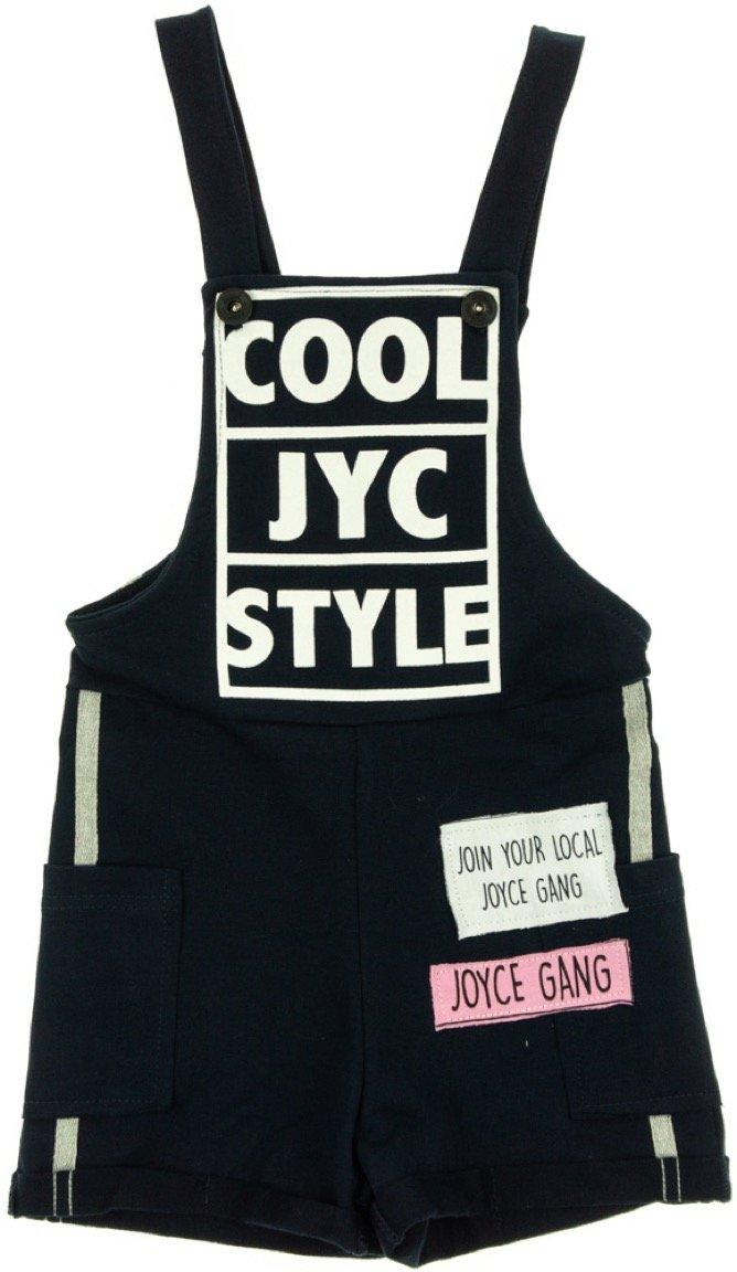 Joyce παιδικό ολόσωμο παντελόνι σαλοπέτα «Blue Cool Style»