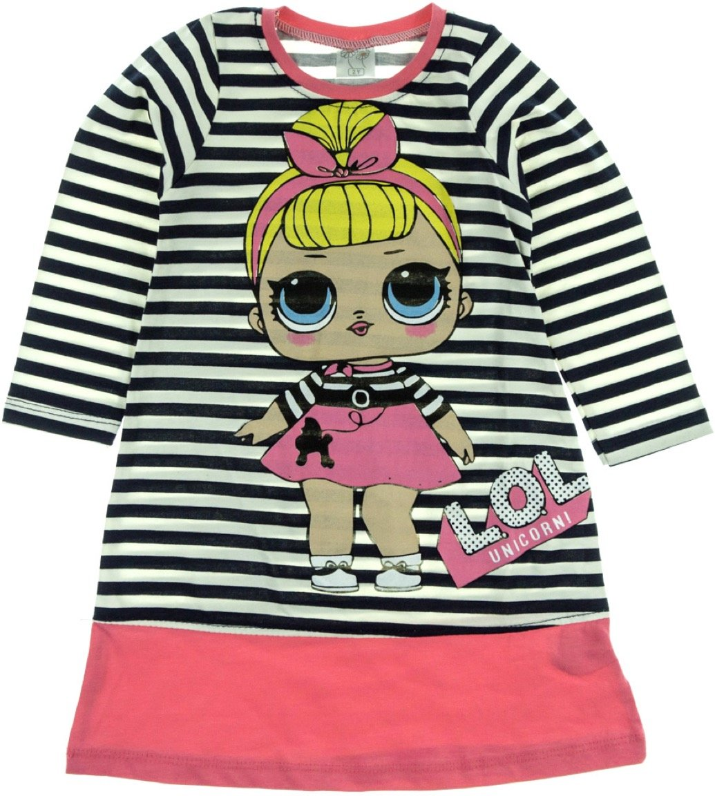 Baby Pink παιδικό εποχιακό φόρεμα «My Girl»