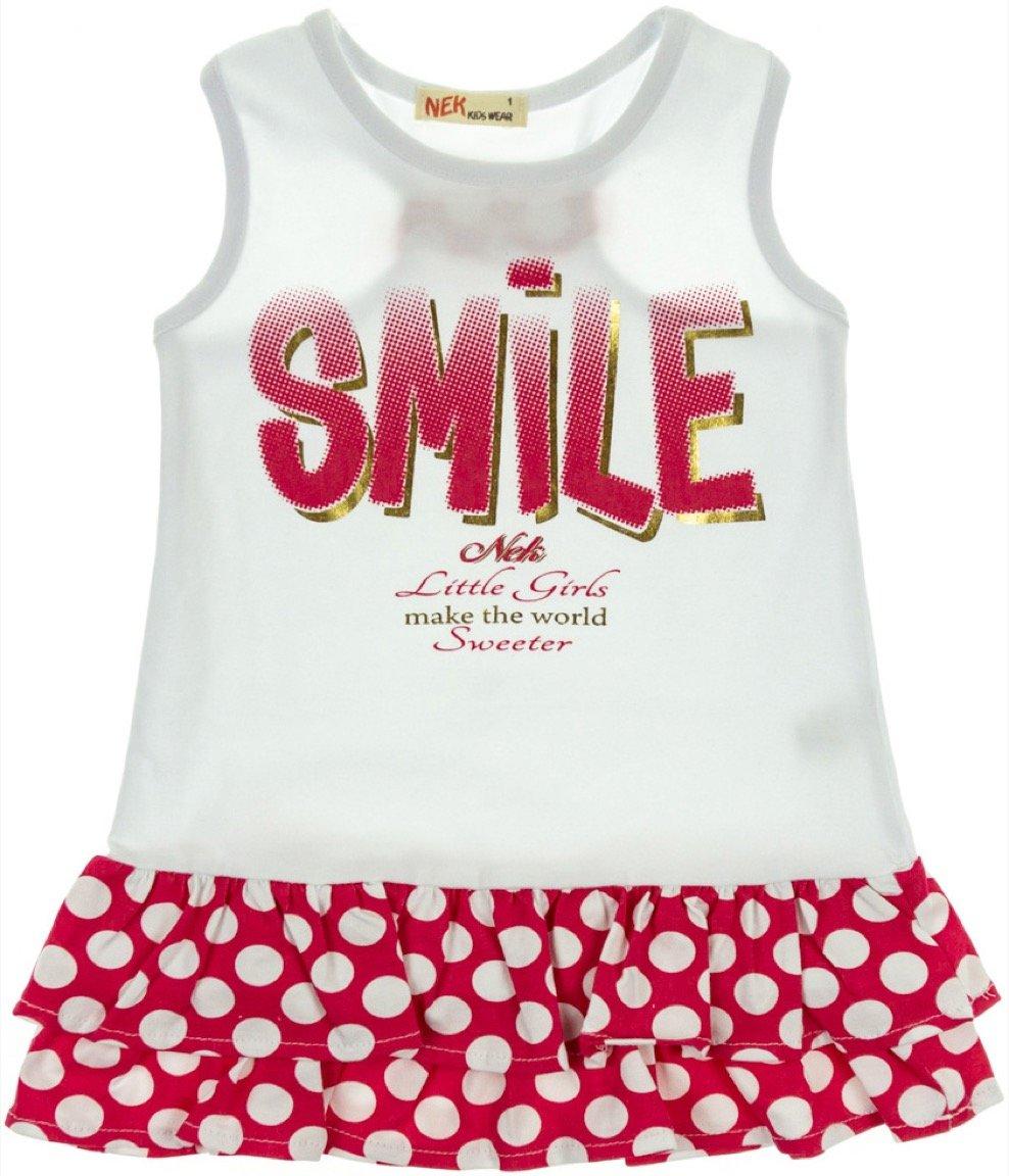 Nek παιδικό φόρεμα «Smile Little Girls»