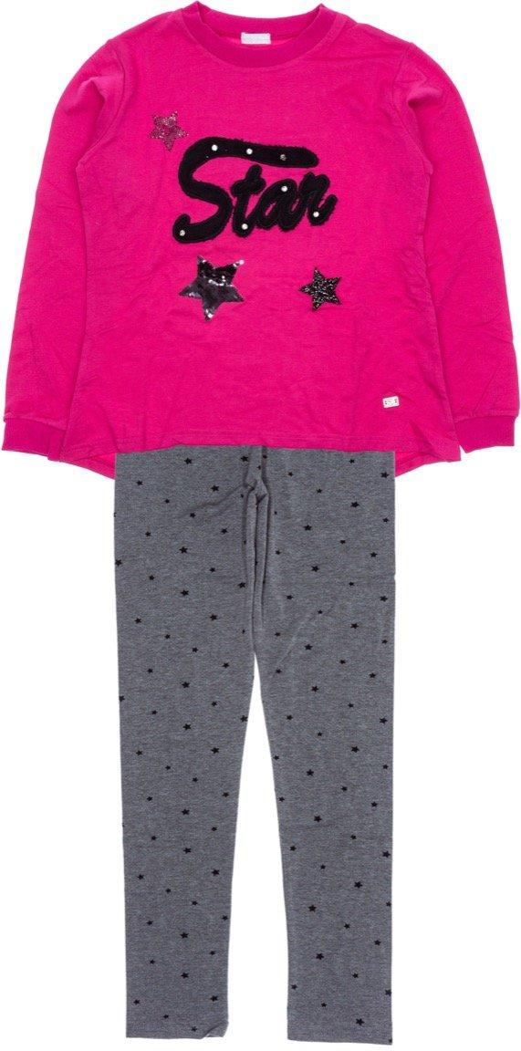 Εβίτα παιδικό εποχιακό σετ φόρμα μπλούζα-παντελόνι «Star»