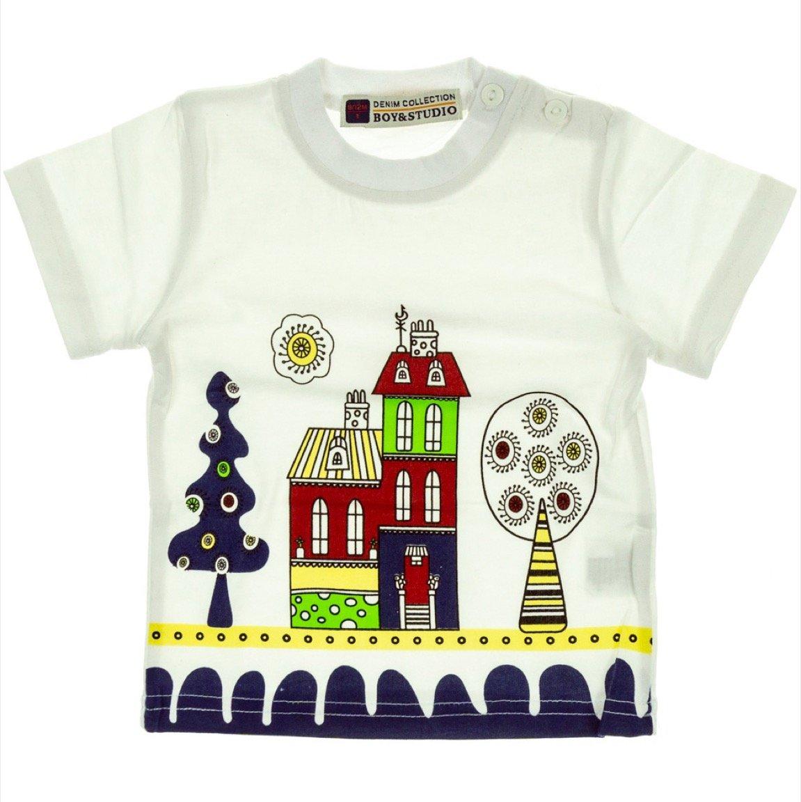 Boy & Studio παιδική μπλούζα «White City»