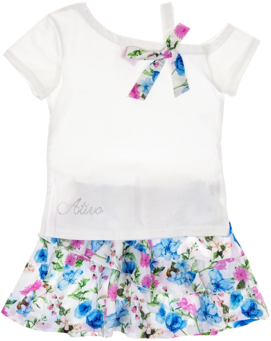Ativo παιδικό σετ μπλούζα-φούστα «Frill Garden»