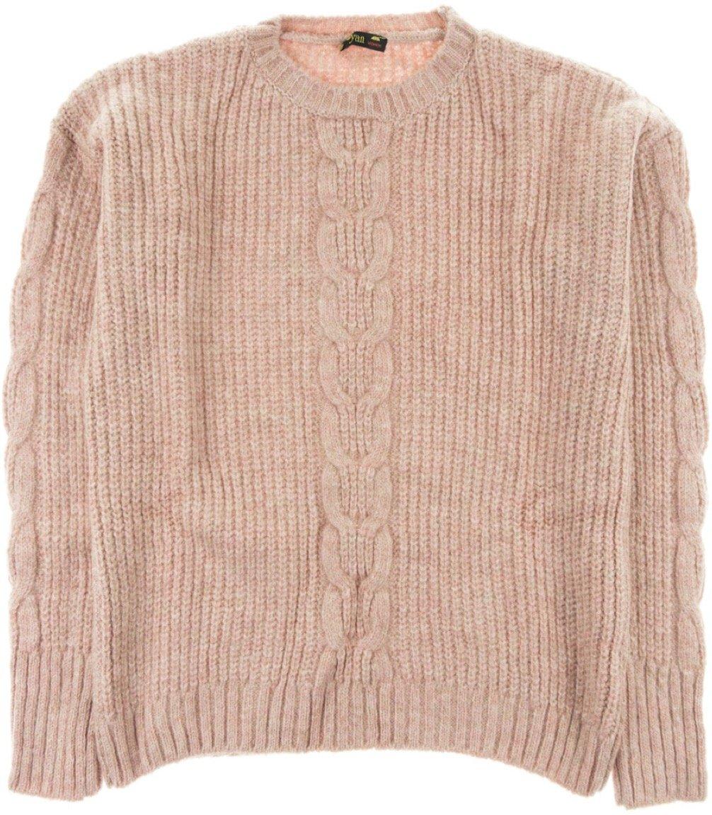 ΑΖ γυναικεία πλεκτή μπλούζα «Pink Net»