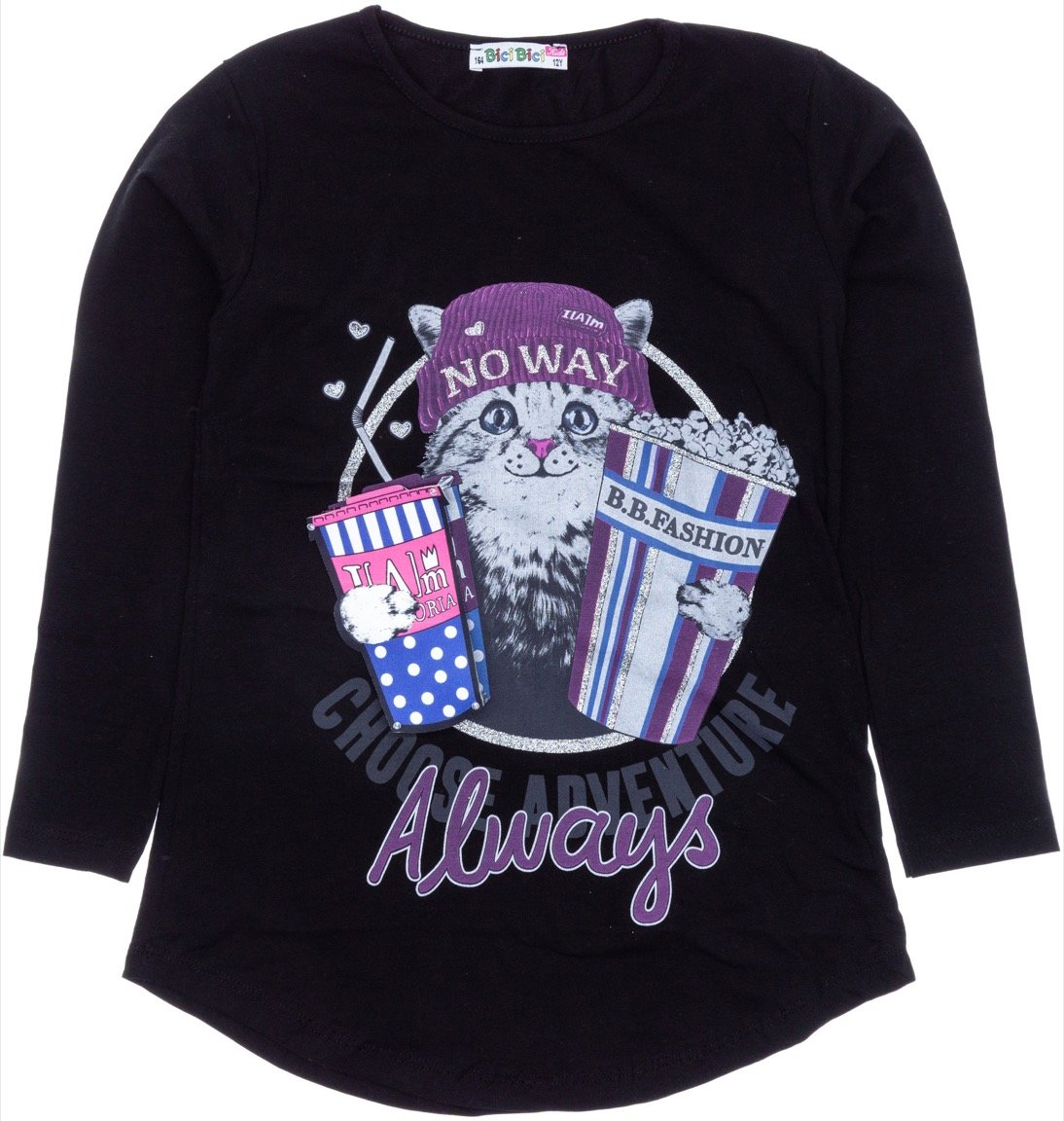 Bici Bici παιδική εποχιακή μπλούζα «Always 3D»
