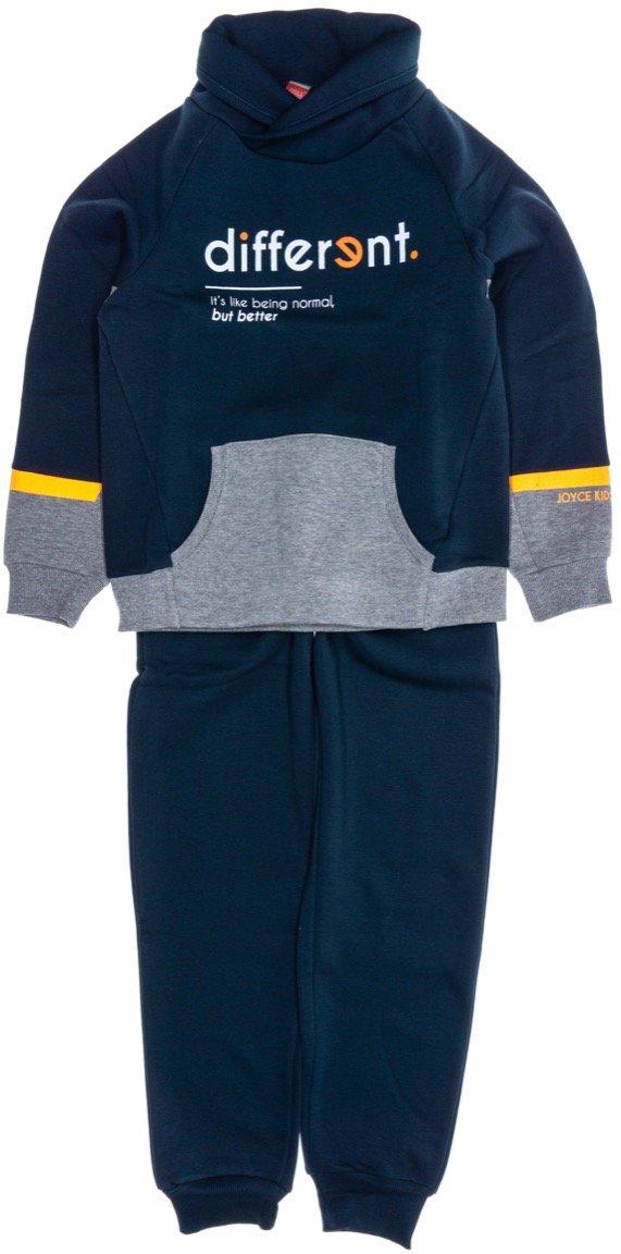 Joyce παιδικό σετ φόρμα μπλούζα-παντελόνι «Different»