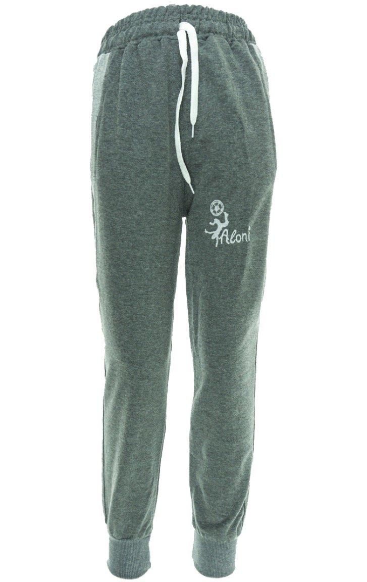 """Aloni παιδικό εποχιακό παντελόνι φόρμας """"Grey Man"""""""