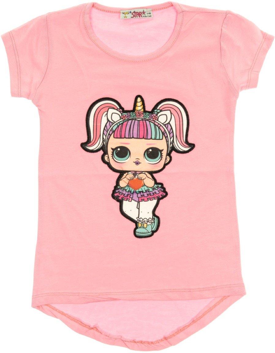 Mix Star παιδική μπλούζα με φωτάκια «Pink Missy»