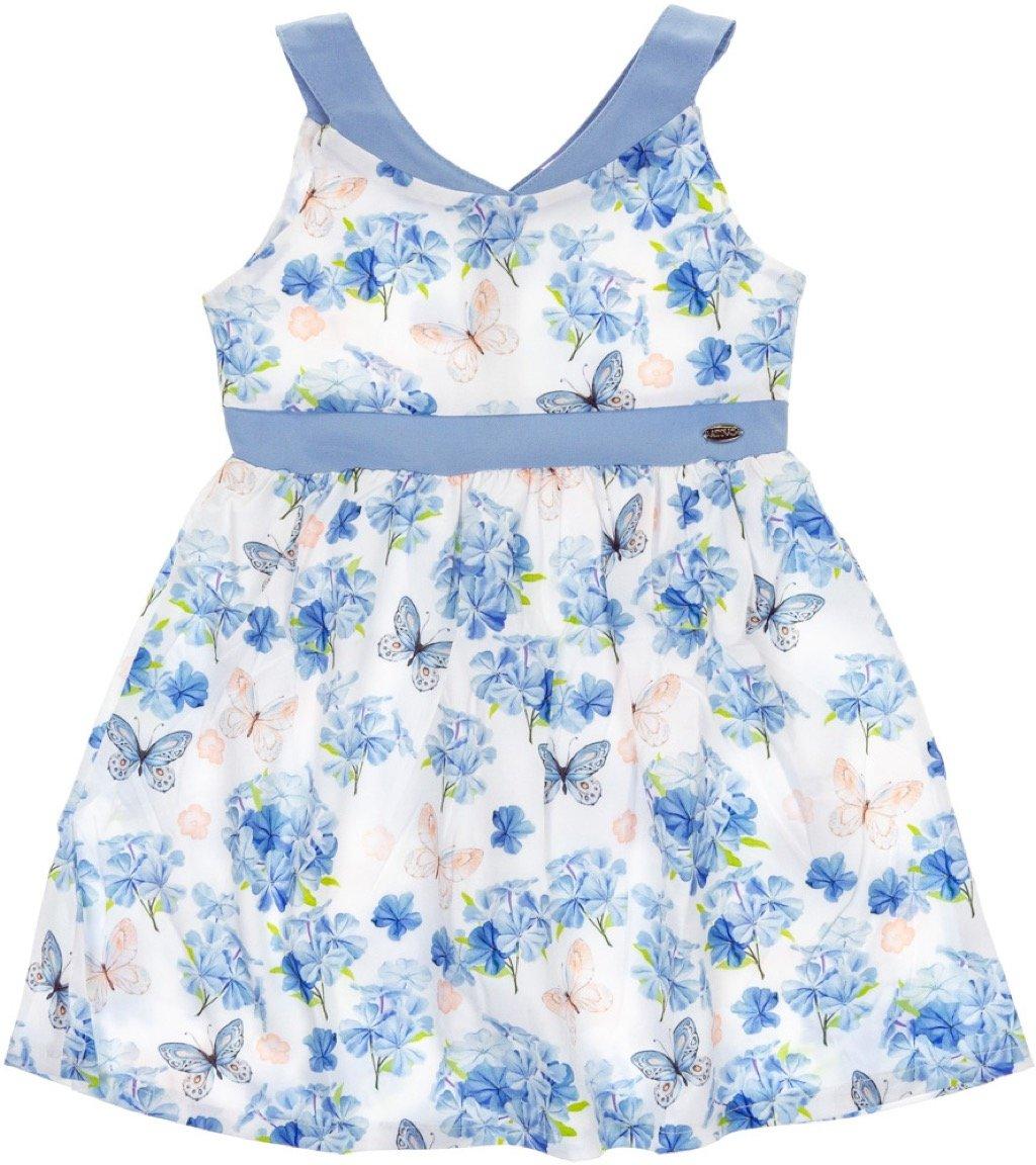 Ativo παιδικό φόρεμα «Blue Garden»