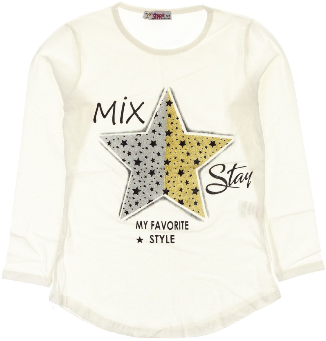 Mix Star παιδική εποχιακή μπλούζα «My Favorite Style»