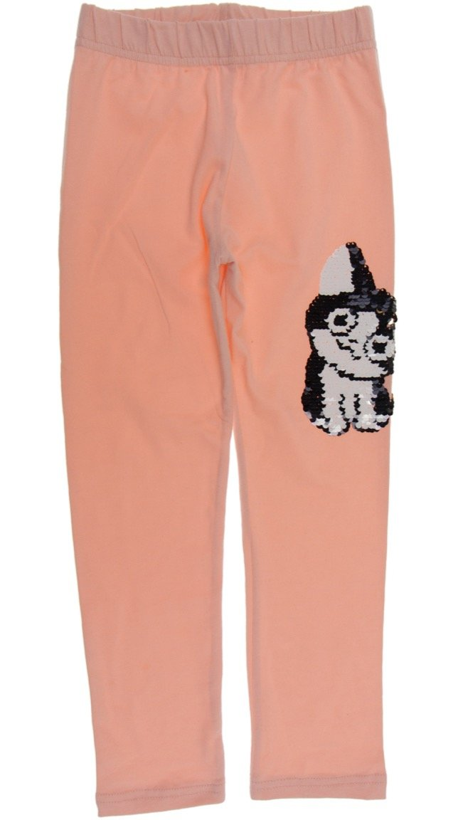 "ARS παιδικό εποχιακό παντελόνι κολάν ""Pink Cat"""