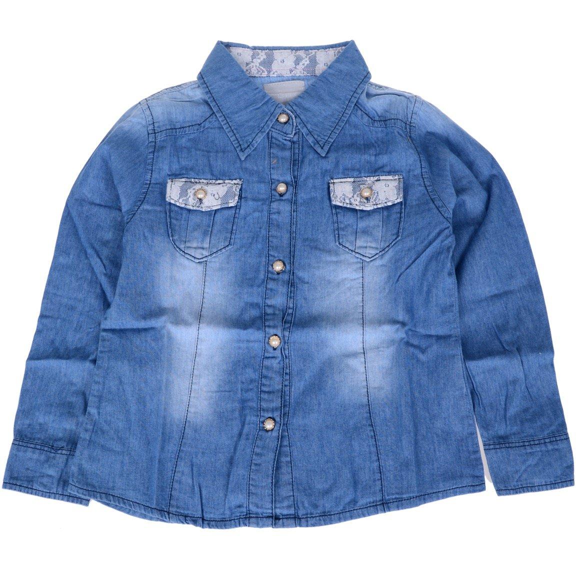Εβίτα παιδικό εποχιακό πουκάμισο τζιν «Wanted»