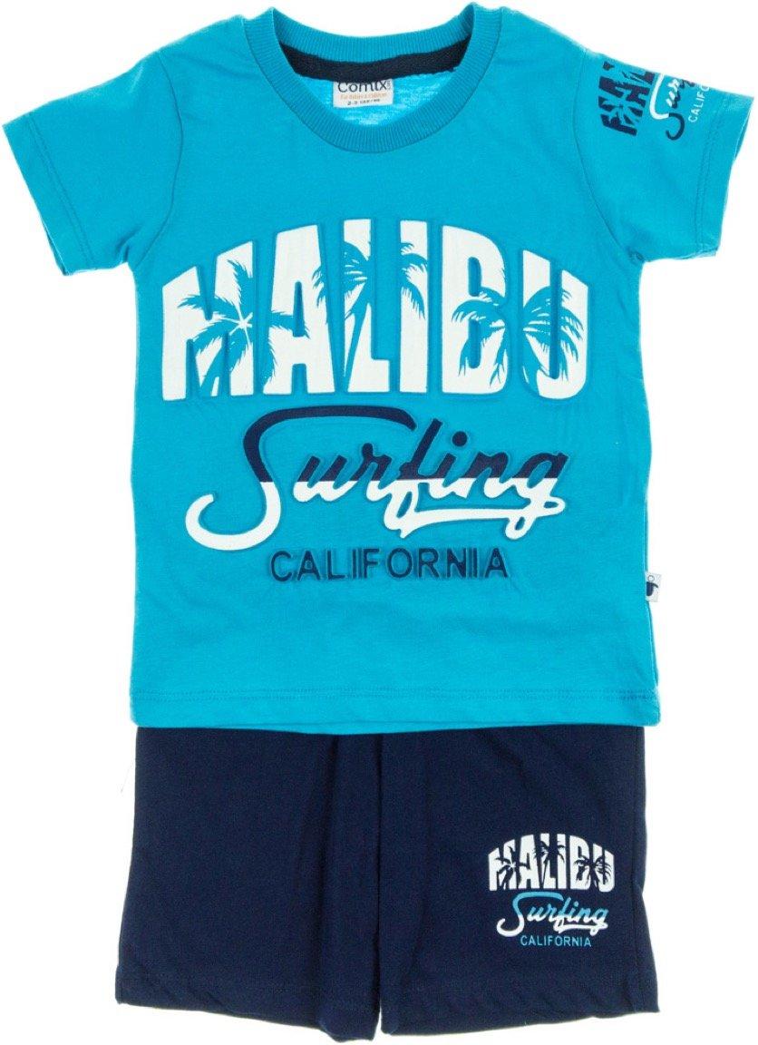 Comix Life παιδικό σετ μπλούζα-παντελόνι βερμούδα «Malibu»