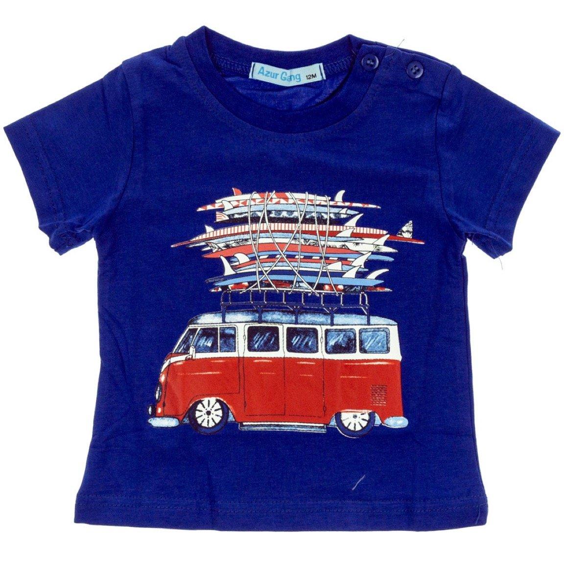 Azur Gang παιδική μπλούζα «Blue Bus»