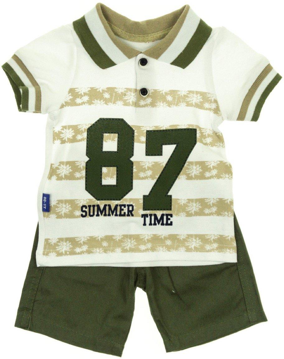 R.T.M. παιδικό σετ πουκάμισο-παντελόνι σορτς «Summer Time»