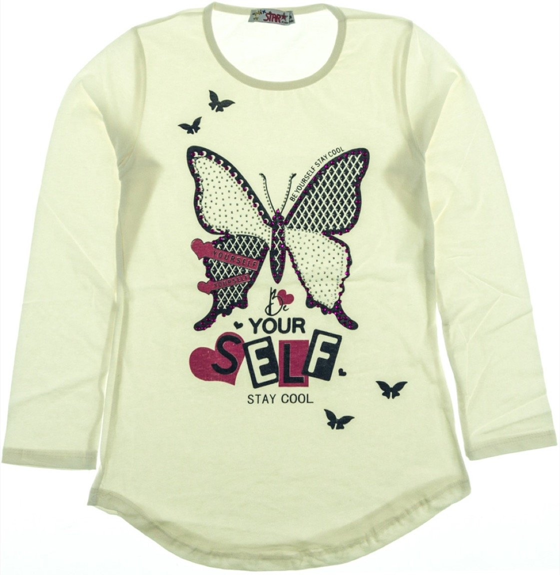 Mix Star παιδική εποχιακή μπλούζα «Be Yourself»