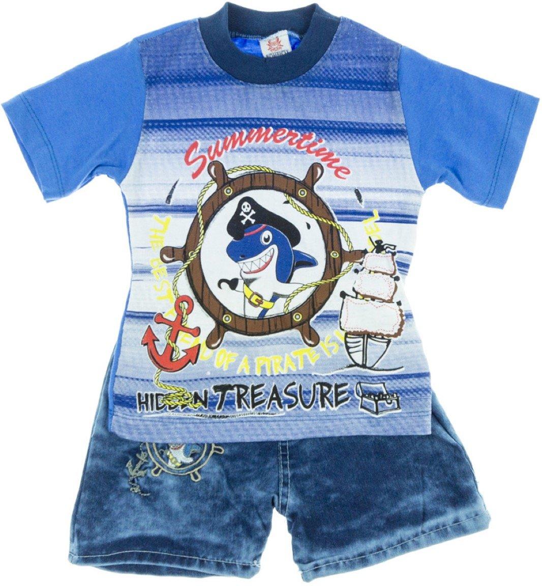 Bombicix παιδικό σετ μπλούζα-παντελόνι σορτς «Treasure»