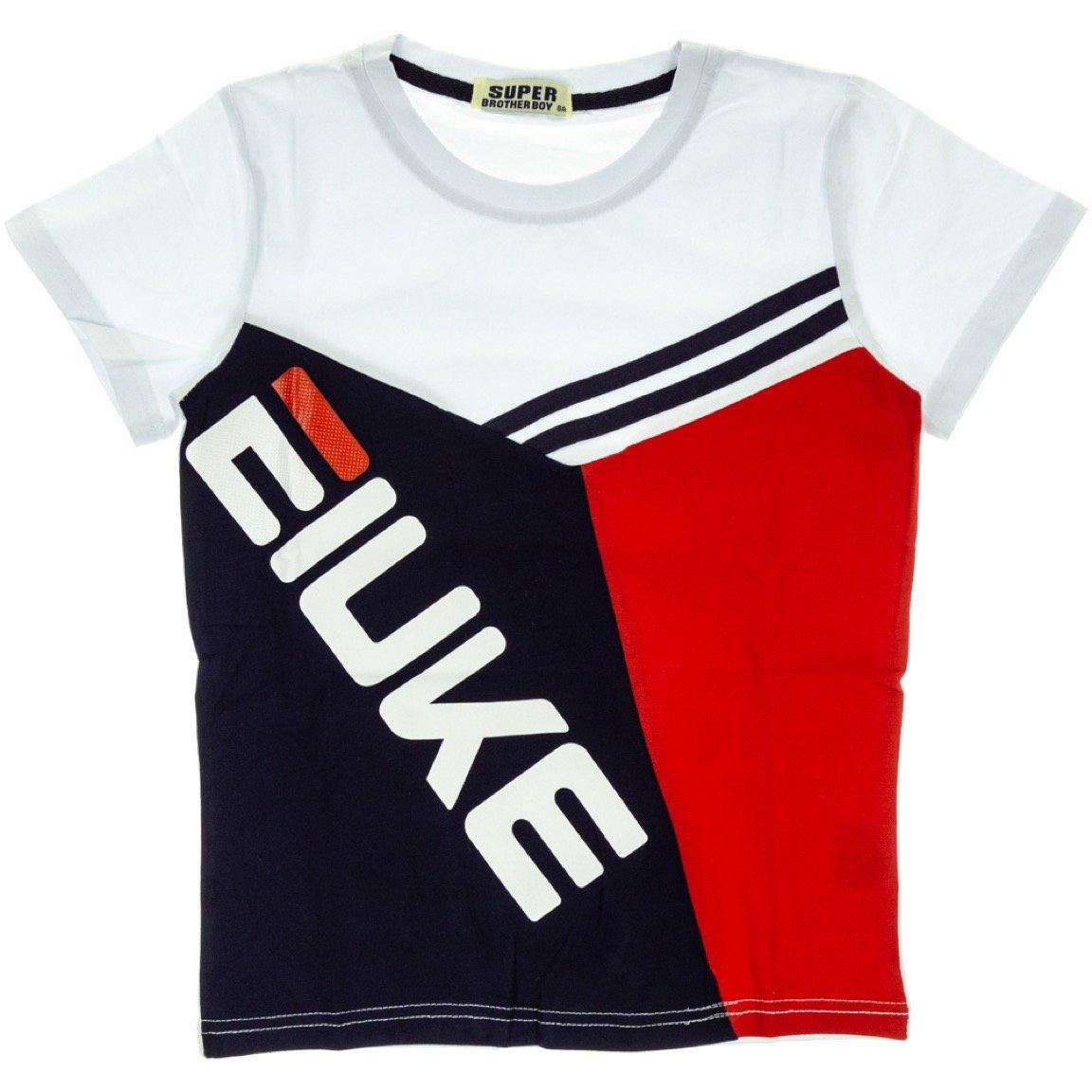 Super Brother παιδική μπλούζα «White Eiuke»