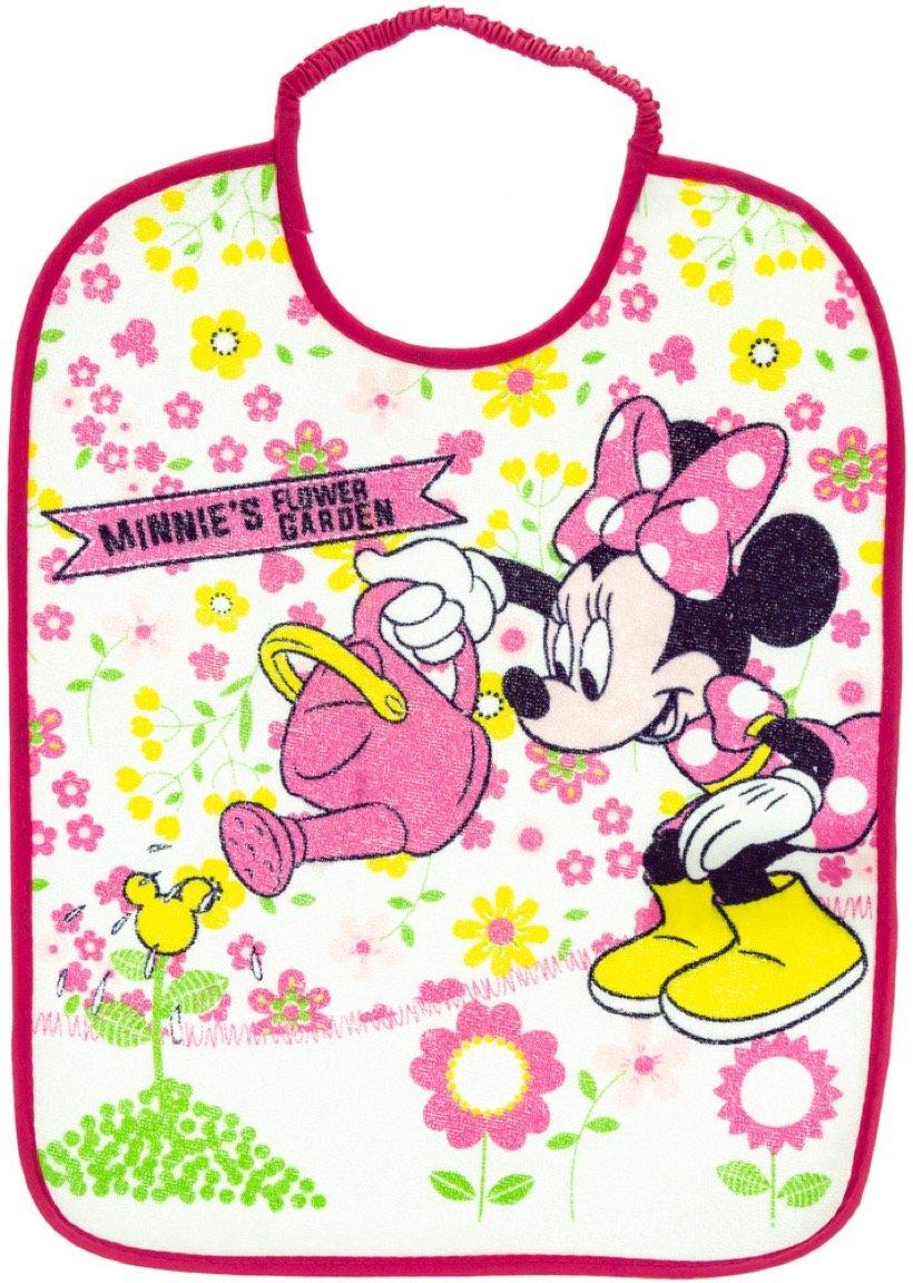 Disney βρεφική σαλιάρα φαγητού «Minnie's Fuchsia Garden»
