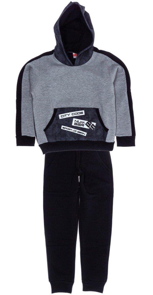 Joyce παιδικό σετ φόρμα μπλούζα-παντελόνι «City Code»