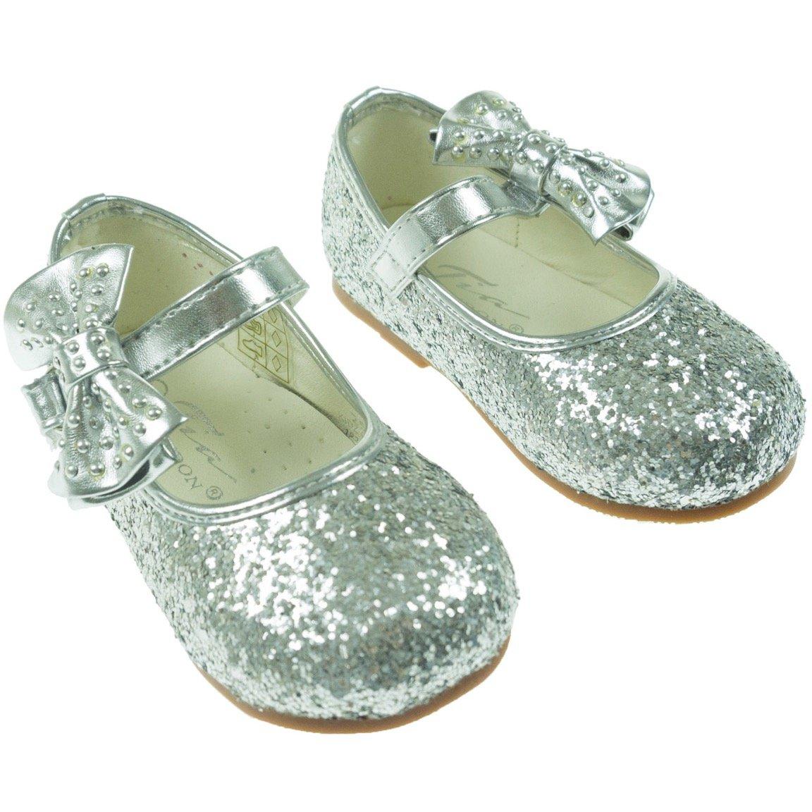 "Tia London παιδικά αμπιγιέ παπούτσια ""Silver"""