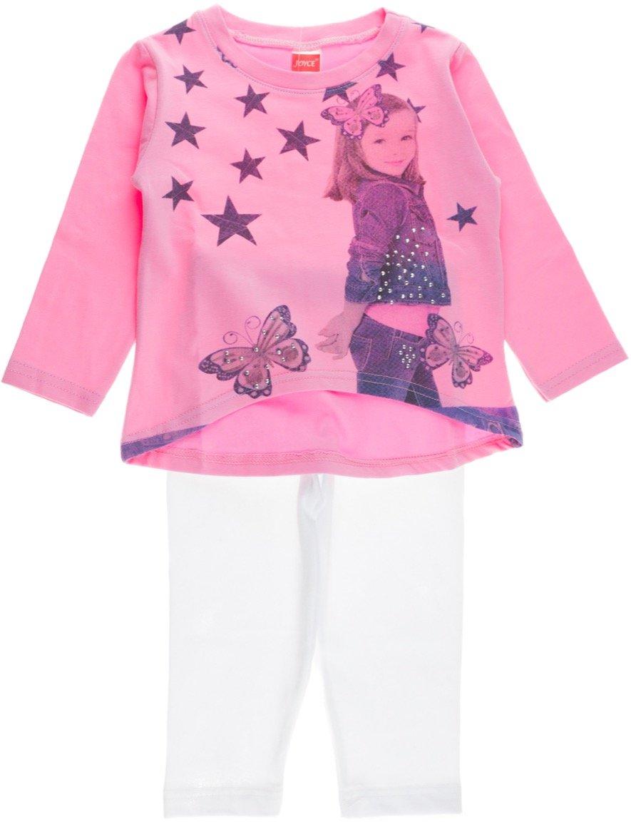 Joyce παιδικό εποχιακό σετ μπλούζα-παντελόνι κολάν «The Super Star»