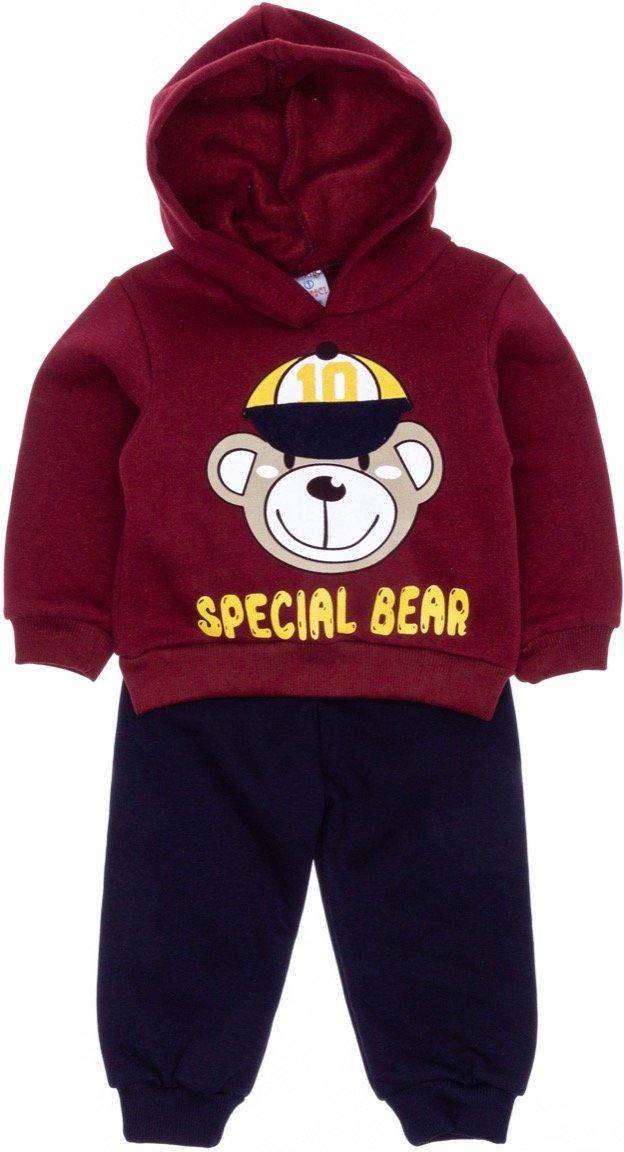 Yuvaci βρεφικό σετ φόρμα μπλούζα-παντελόνι «Special Bear»