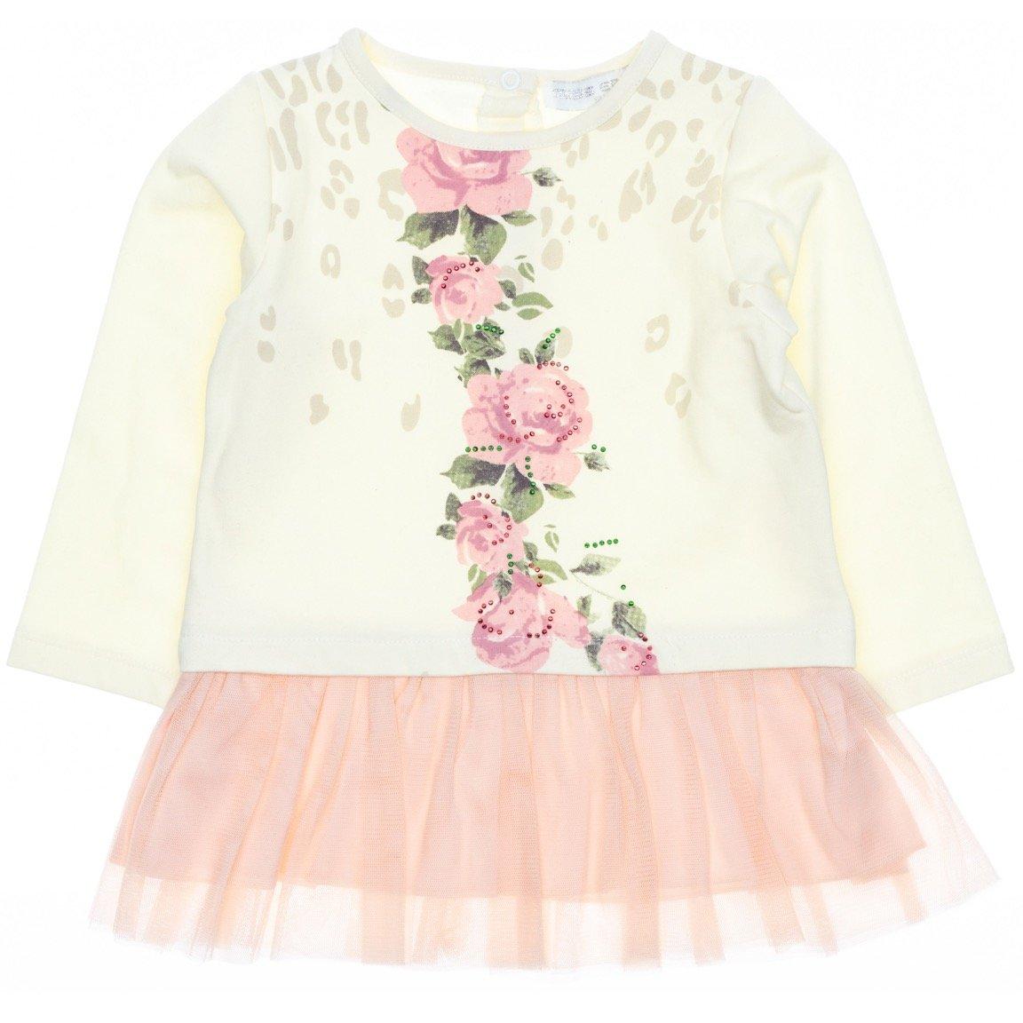 Εβίτα βρεφικό φόρεμα «Flowers in Blossom»