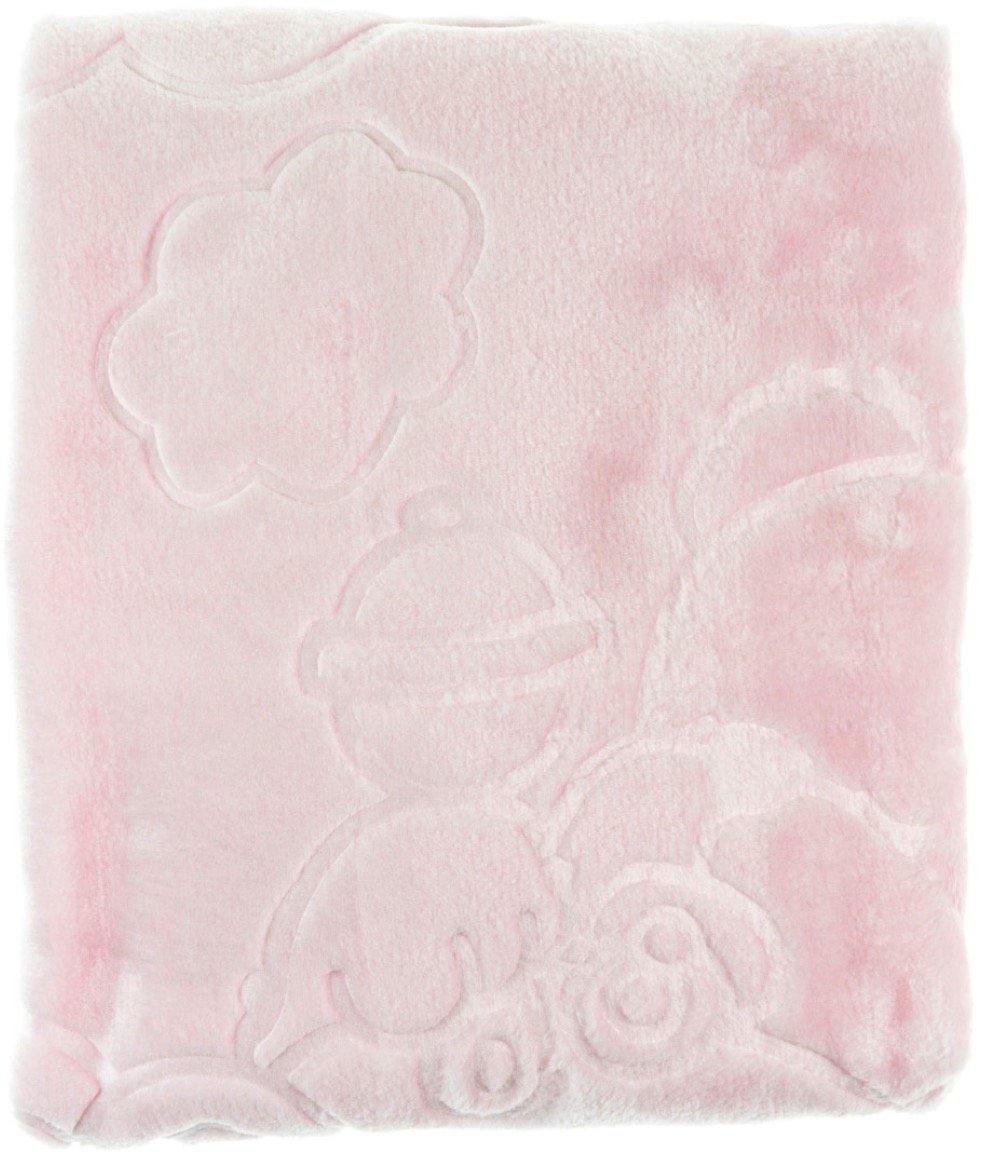 Golden Spring κουβέρτα για παιδικό κρεβάτι (κούνια) «Pink Wagon»