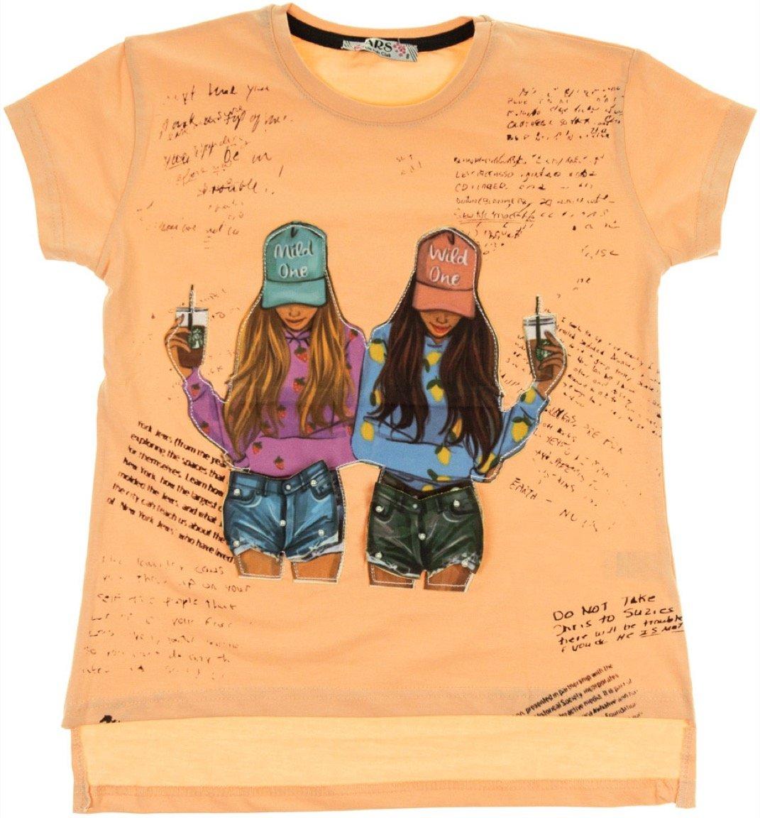 ARS παιδική μπλούζα «Mild & Wild 3D»