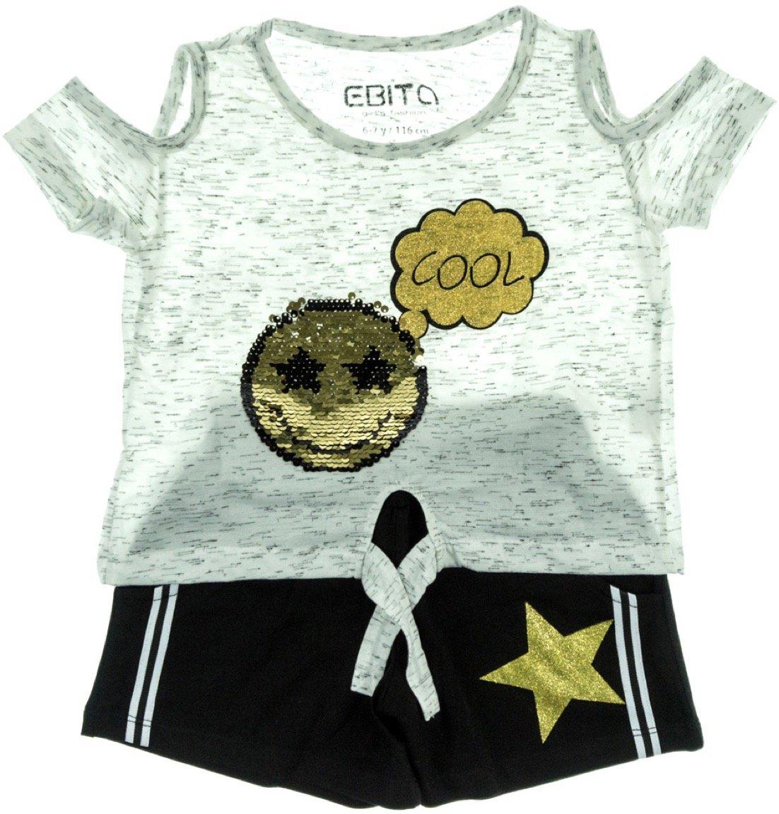 Εβίτα παιδικό σετ μπλούζα-παντελόνι σορτς «Cool Smile»