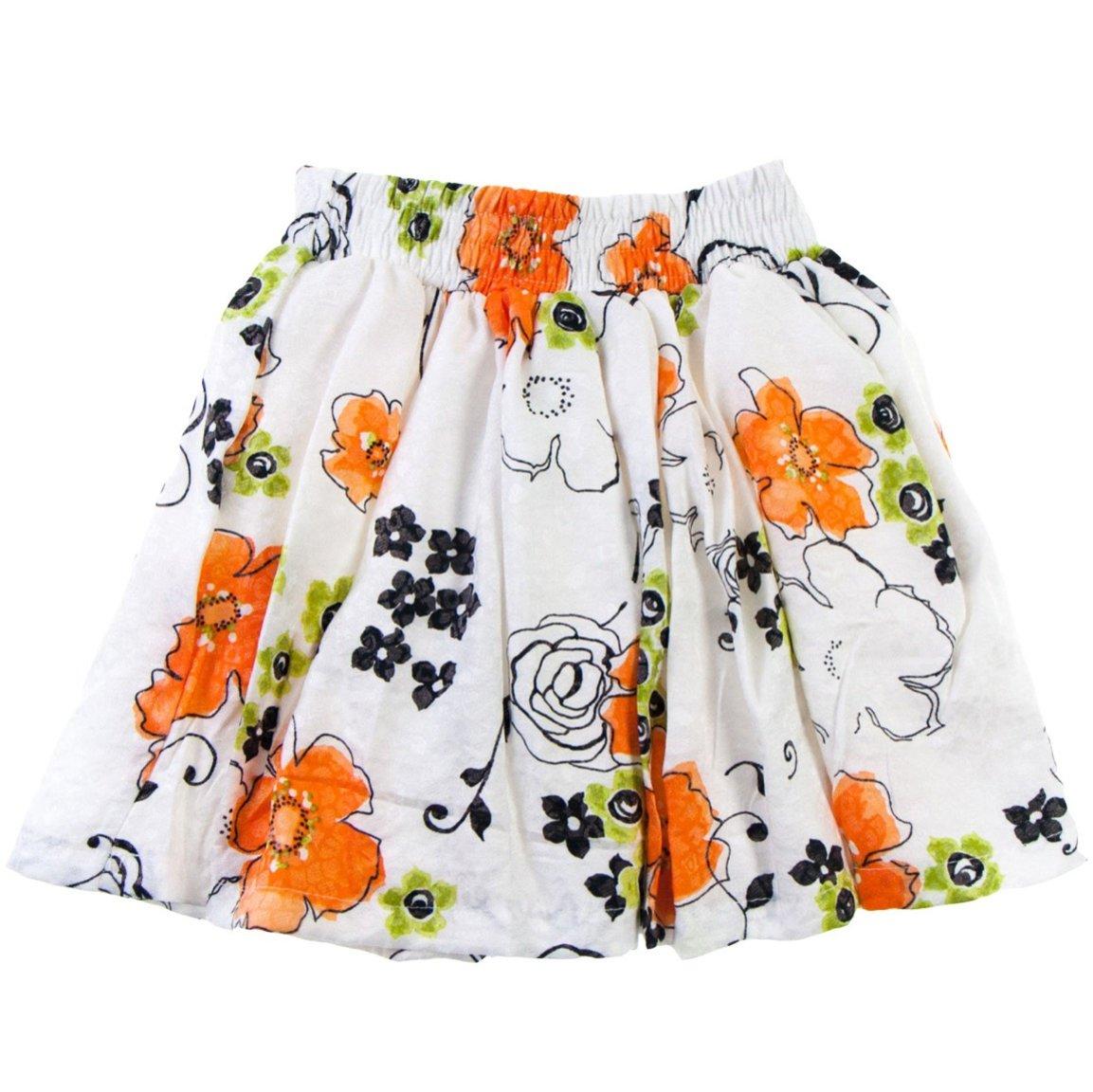 """ΑΖ παιδική φούστα """"Orange Predominance"""""""