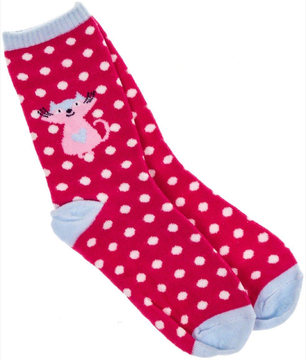 Kitty Cat παιδικές κάλτσες «Kitty Heart»