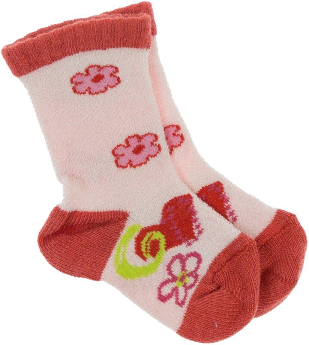 Lateks παιδικές κάλτσες «Beautiful Pink Flowers»