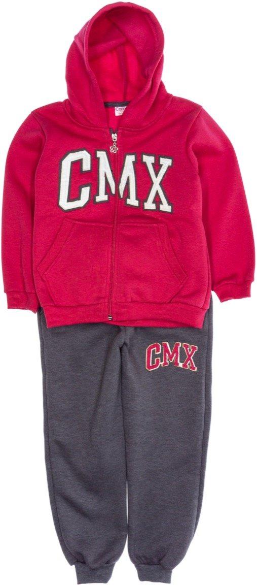 Comix παιδικό σετ φόρμα ζακέτα-παντελόνι «CMX»