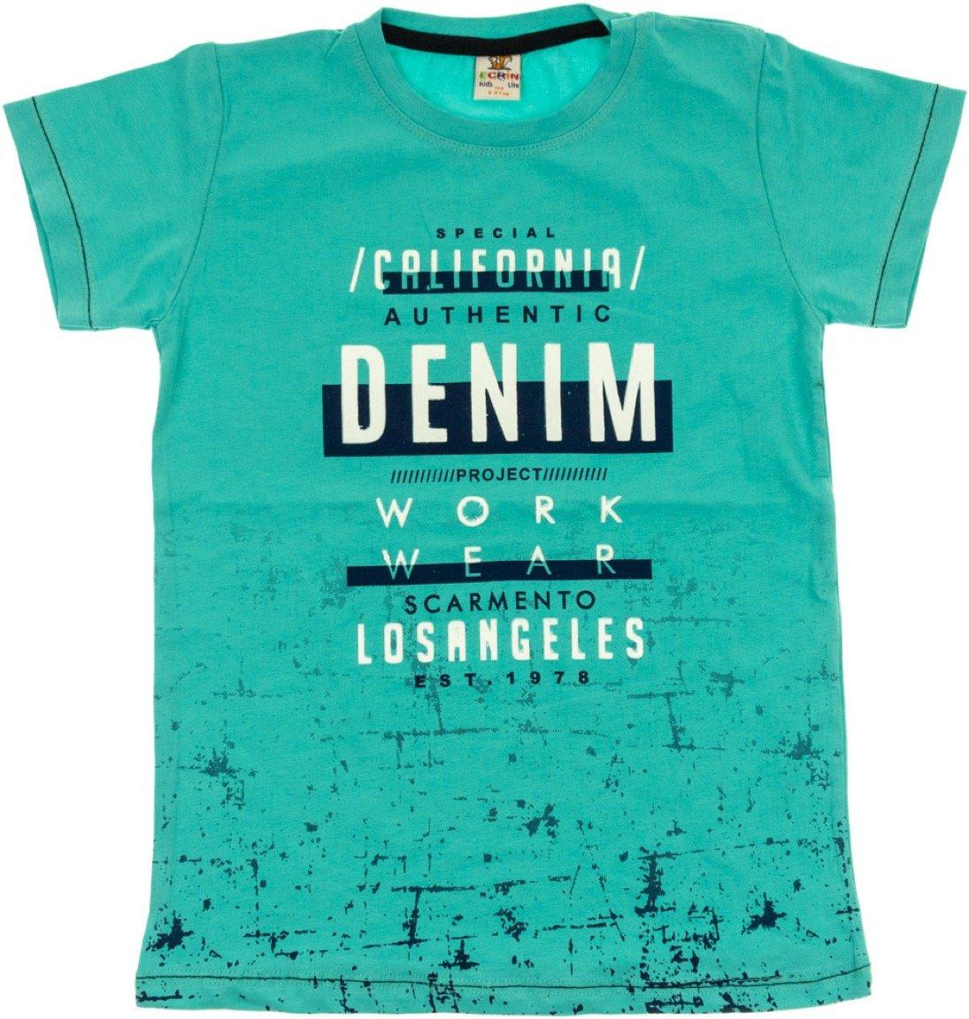 Ecrin παιδική μπλούζα «Petrol Denim»