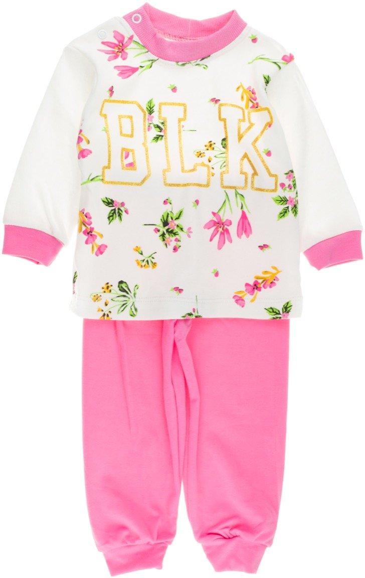Bilkon βρεφικό εποχιακό σετ φόρμα μπλούζα-παντελόνι «BLK»