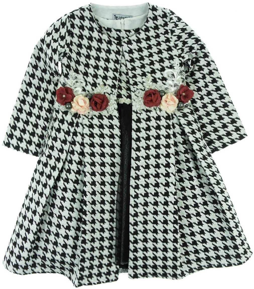 Seker παιδικό αμπιγιέ φόρεμα και μαντό «The Layers»