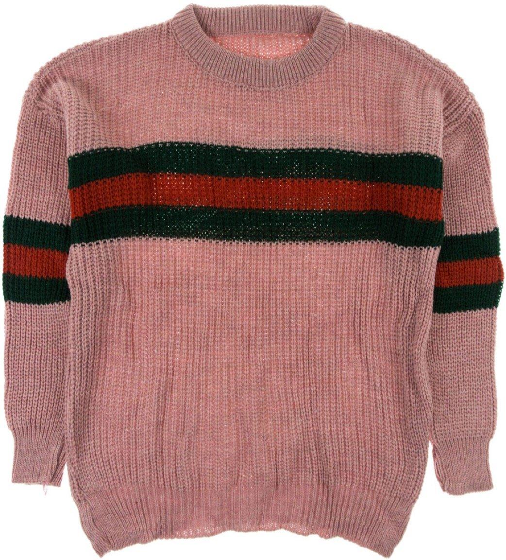 ΑΖ γυναικεία πλεκτή μπλούζα «Pink Coziness»