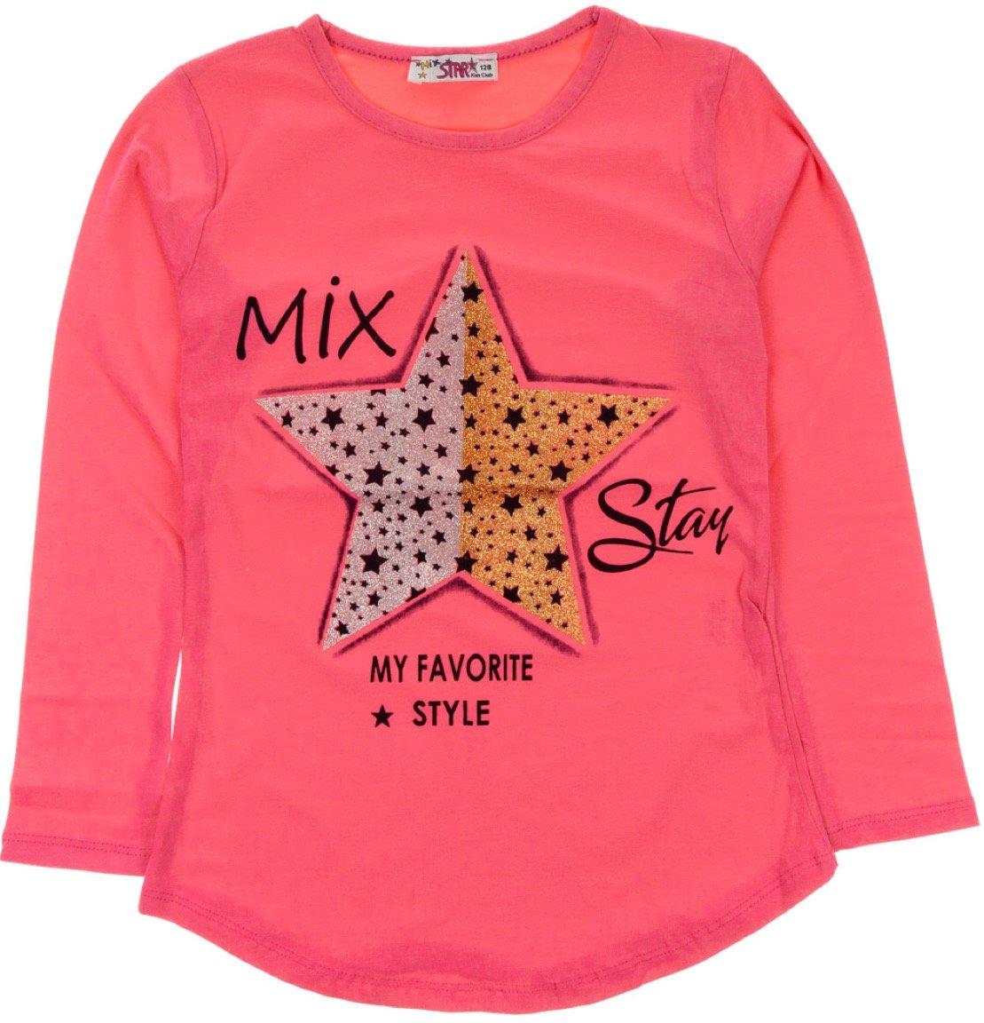 Mix Star παιδική εποχιακή μπλούζα «Favorite Style»