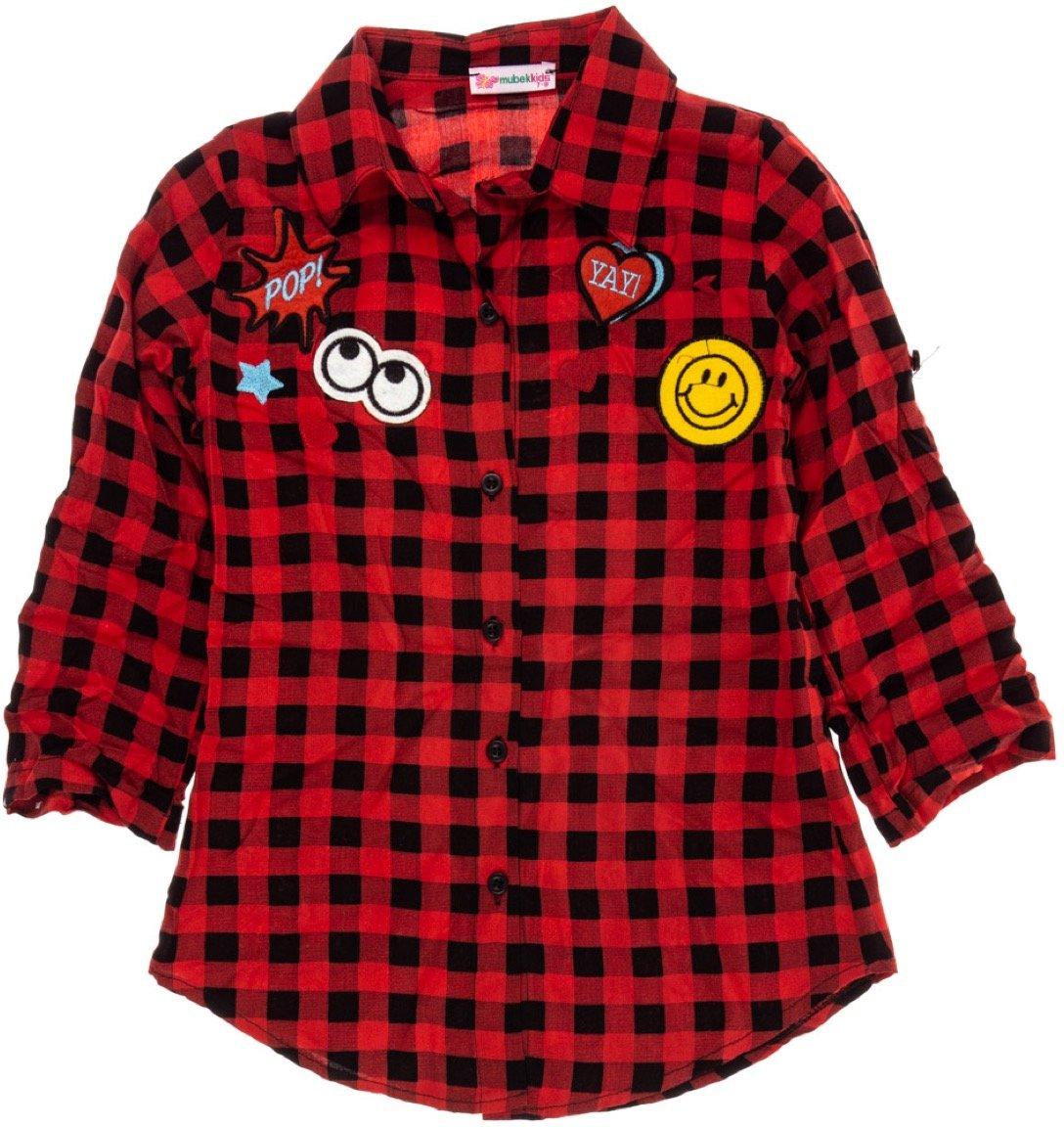 Mubek παιδικό πουκάμισο «Plaid»
