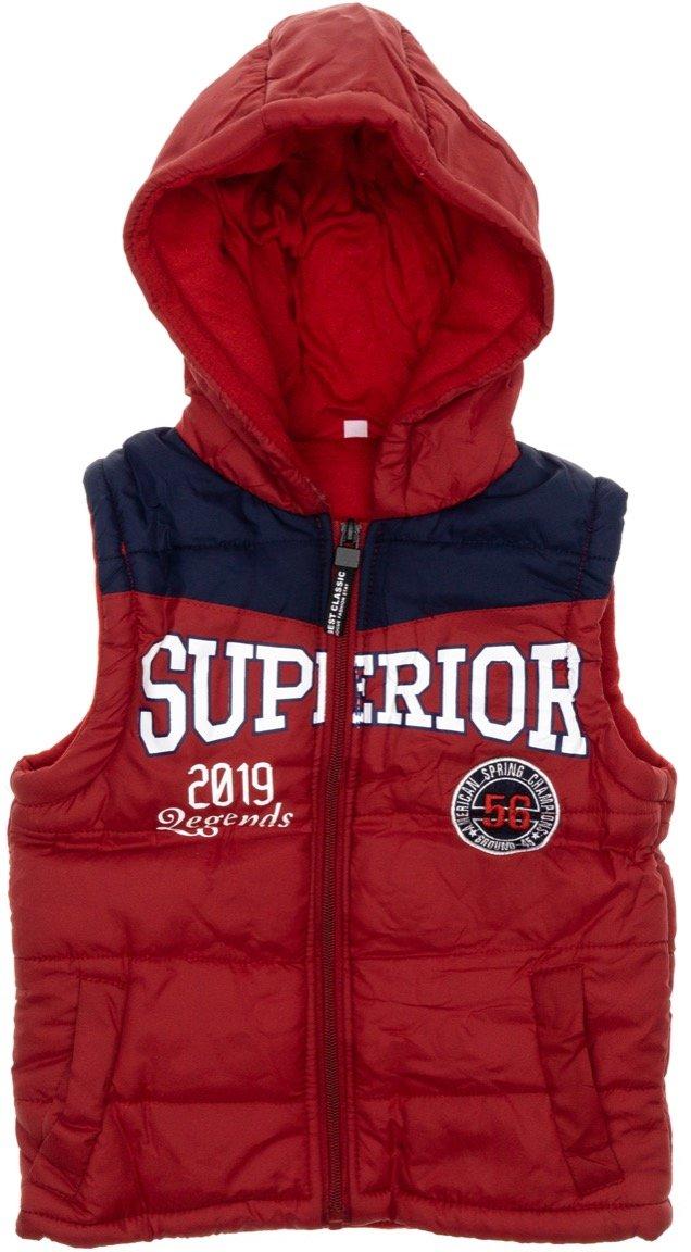 AΖ παιδικό αμάνικο μπουφάν «Red Superior»