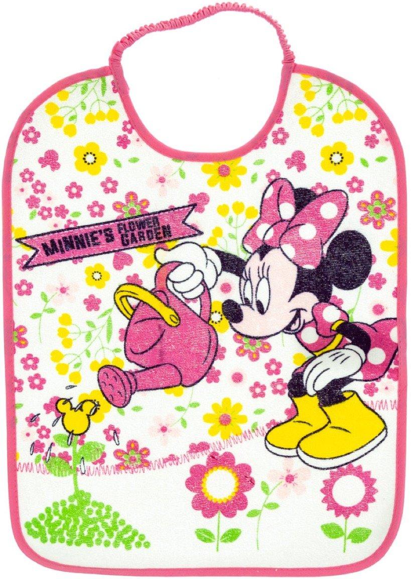 Disney βρεφική σαλιάρα φαγητού «Minnie's Pink Garden»