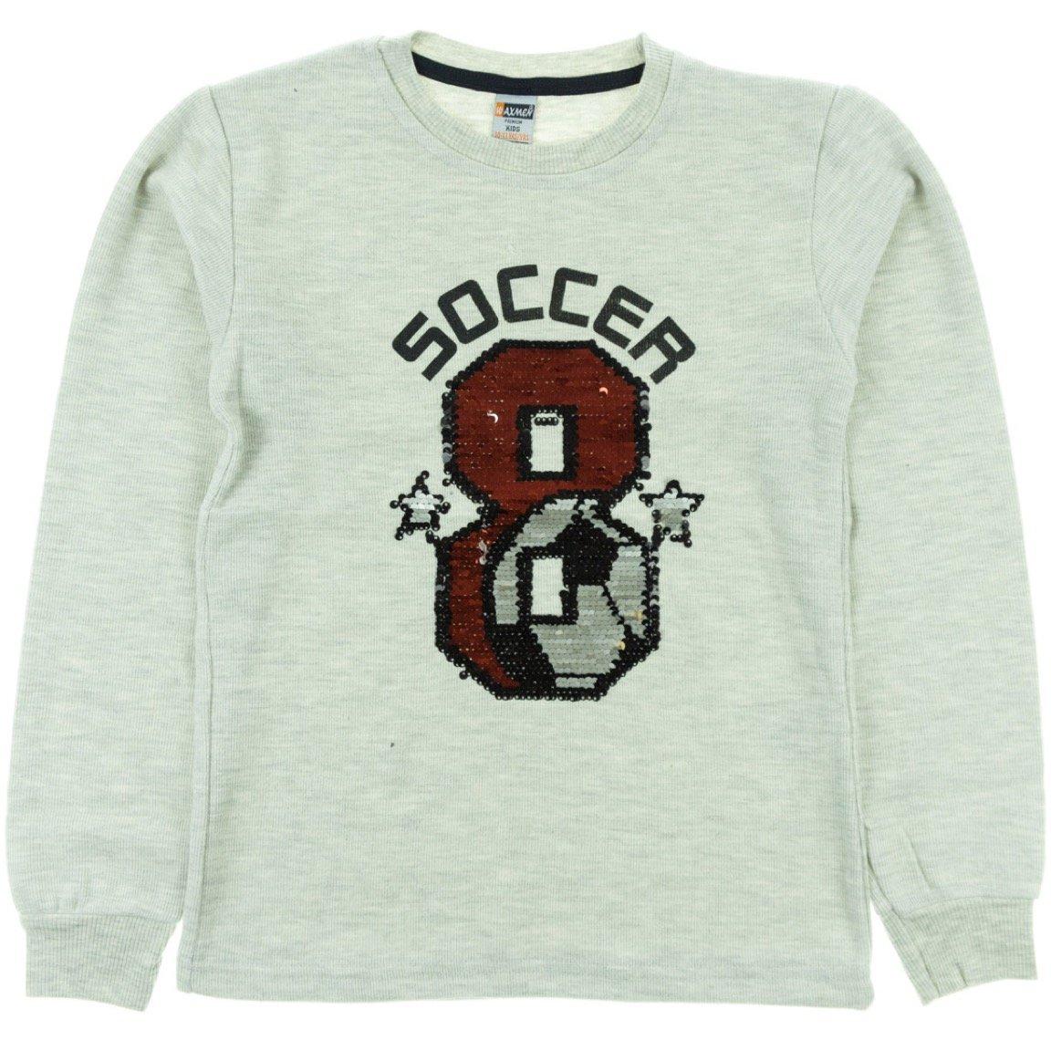 Waxmen παιδική μπλούζα «Grey Soccer»
