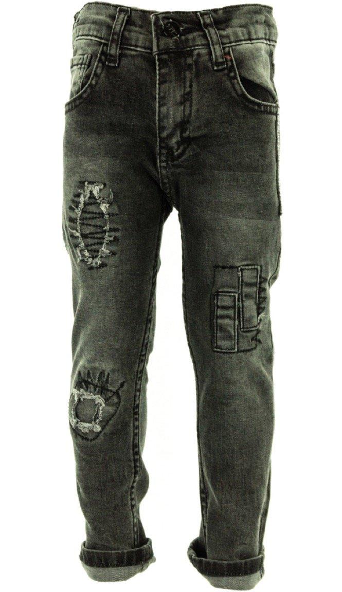 SLM παιδικό παντελόνι τζιν «Nice Black»
