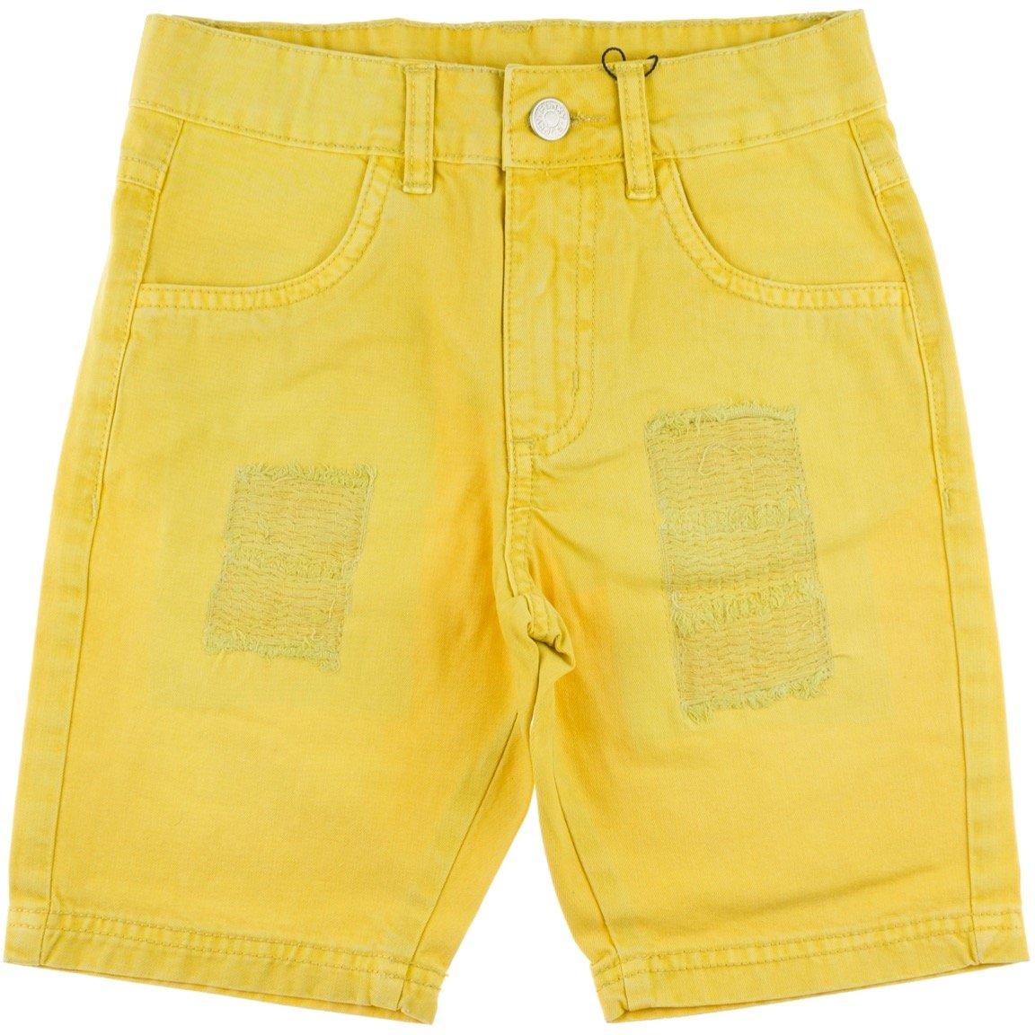 Funky παιδικό παντελόνι βερμούδα «Yellow Power»