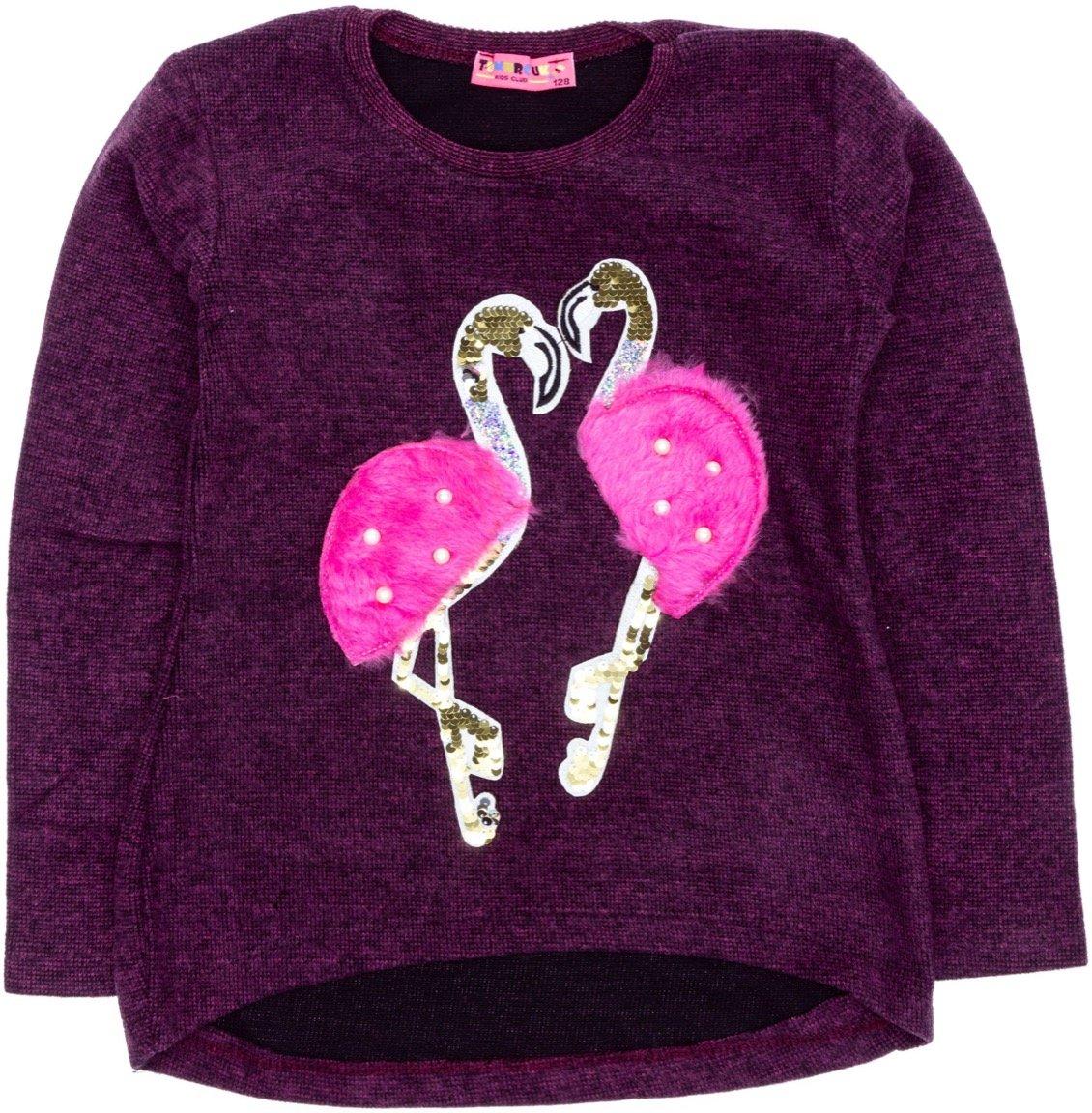 Tomurcuk παιδική μπλούζα «Loving Flamingos»