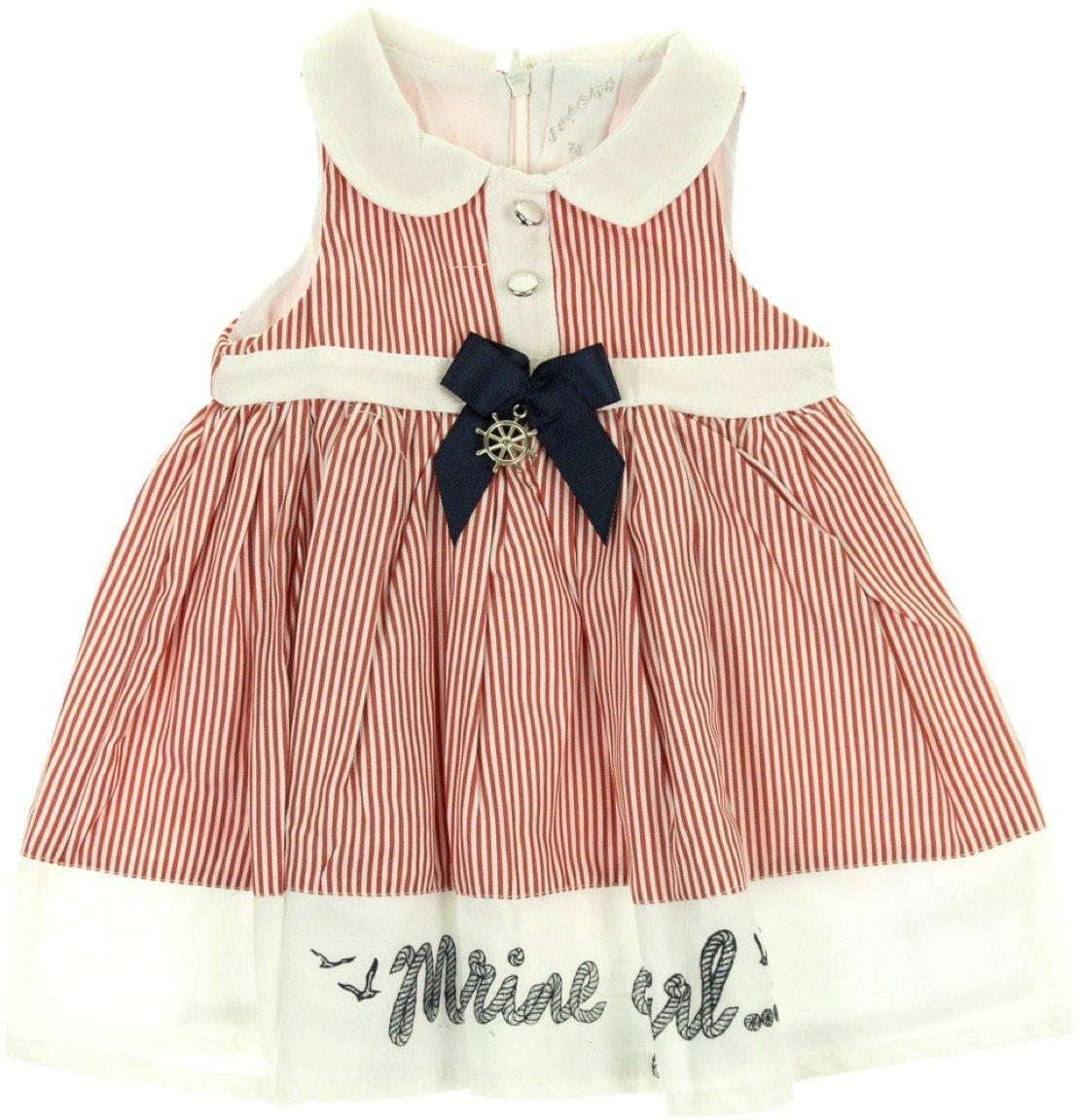 Sermino παιδικό φόρεμα «The Marine Girl»