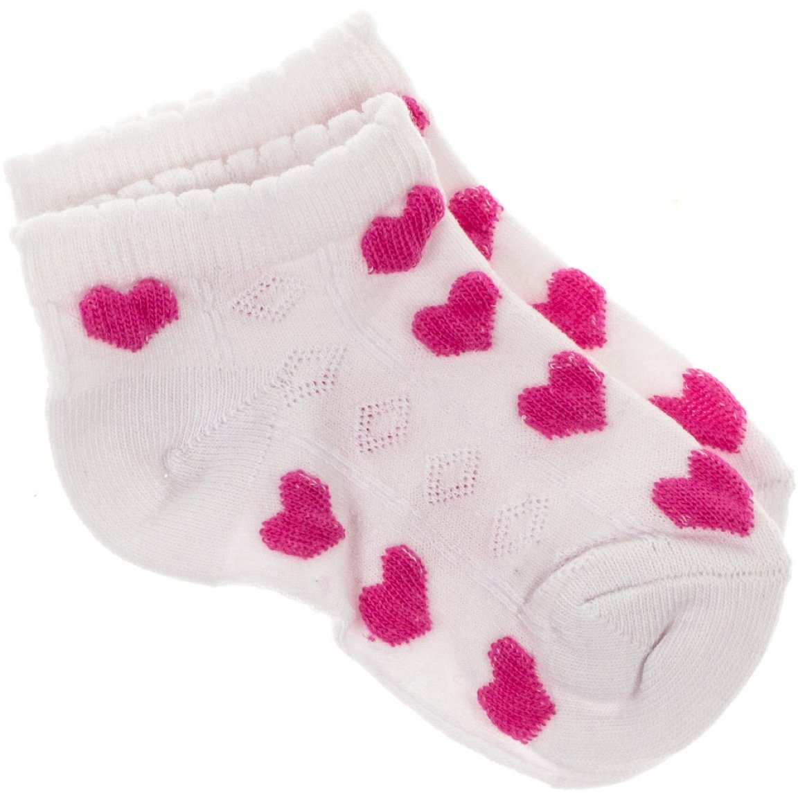 Zual παιδικές κάλτσες «White Cordially»