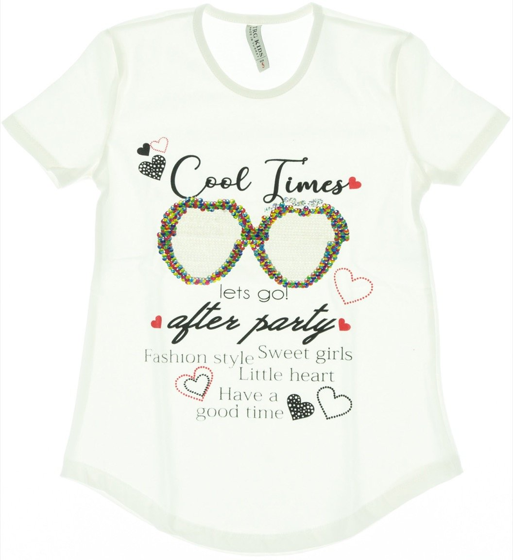 1a7c3bcd14e6 TRG παιδική μπλούζα «Ecru Cool Times» - b2b.AZshop.gr