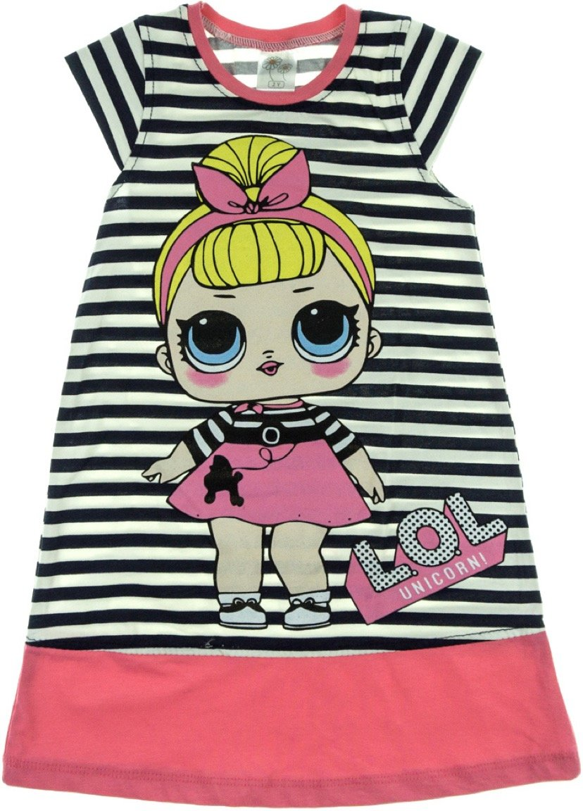 Baby Pink παιδικό φόρεμα «Pink Girl»
